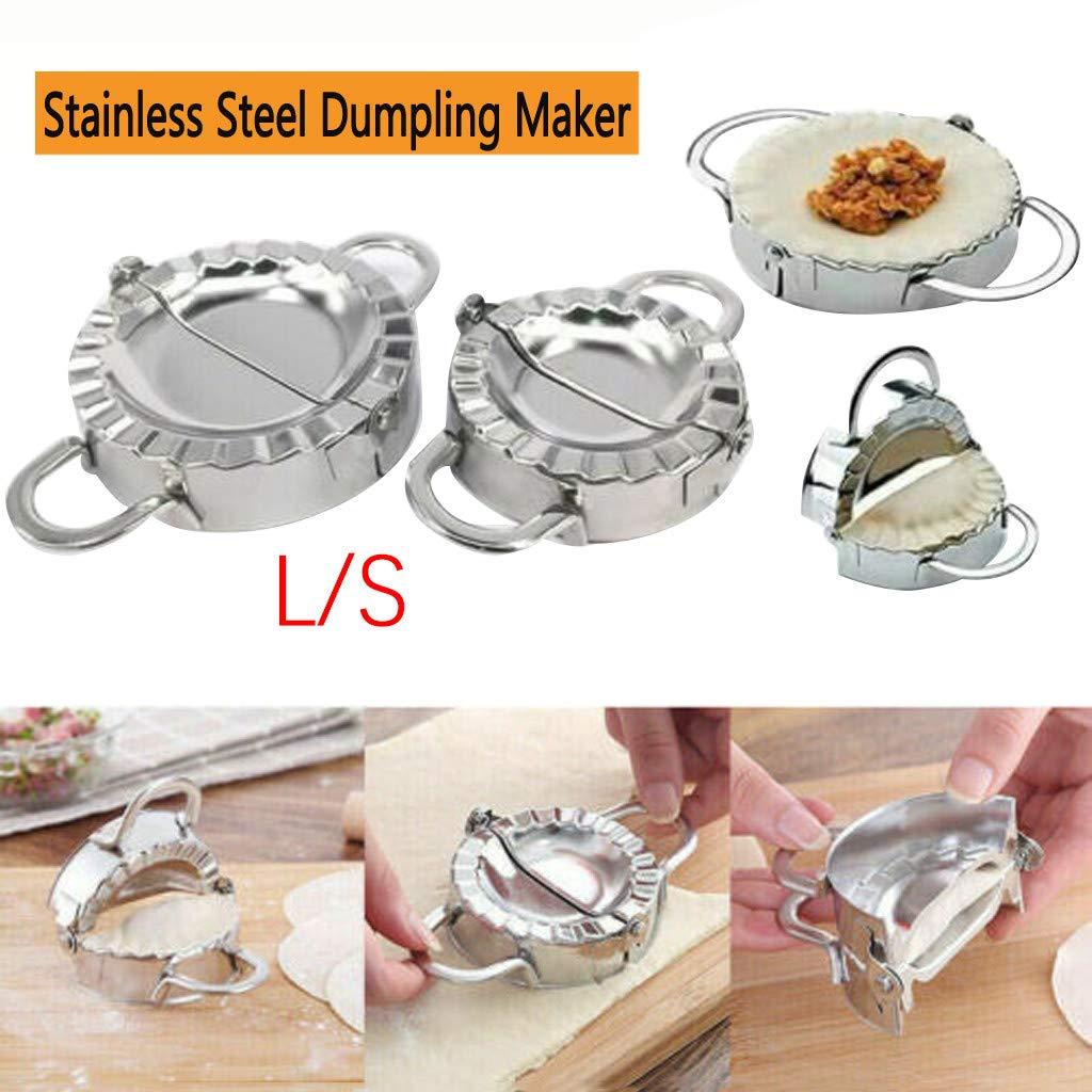 Dumpling Mold,lotus.flower Stainless Steel Jiaozi Molds Ravioli Mold//Wrappers//Mould//Maker Dumpling Maker Mold for Kitchen Bakeware Tools 8.57.23.8cm