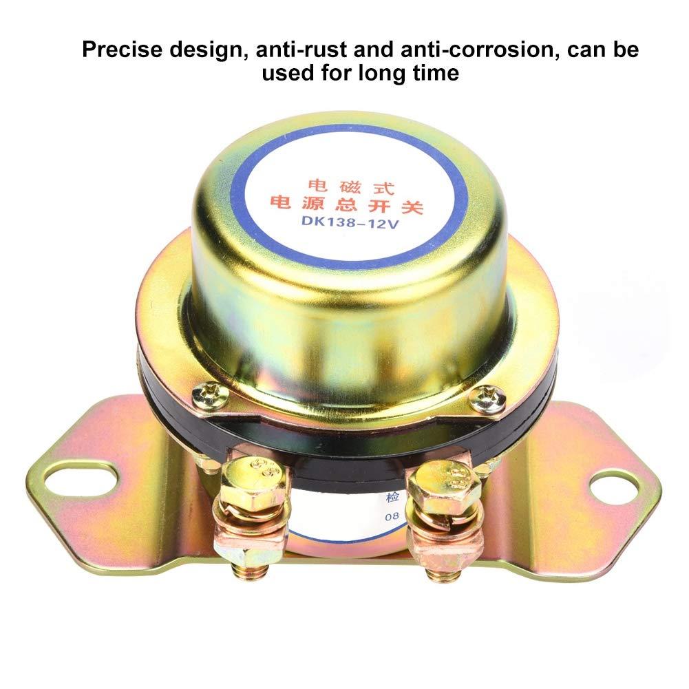 commutateur de batterie de voiture CC 12V Commutateur principal de puissance automobile de d/éconnecteur /électromagn/étique Commutateur de d/éconnection