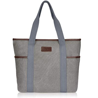 e91ff264bd Amazon.com: Canvas Tote Bag for Women,Sunny Snowy Large Tote Bags,Work  School Shoulder Bag(8002,Gray): Shoes