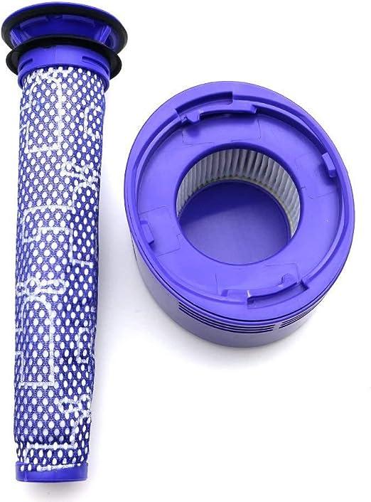 YanBan Pre Motor Filter y Post Motor Hepa Filter Kit para Dyson V8 ...