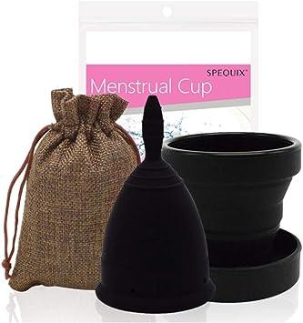 Conjunto de copa menstrual de silicona de grado médico Copas ...