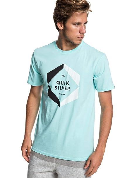 Quiksilver Hexa Logo - Camiseta para Hombre EQYZT05260  Amazon.es  Ropa y  accesorios c436abe66f3