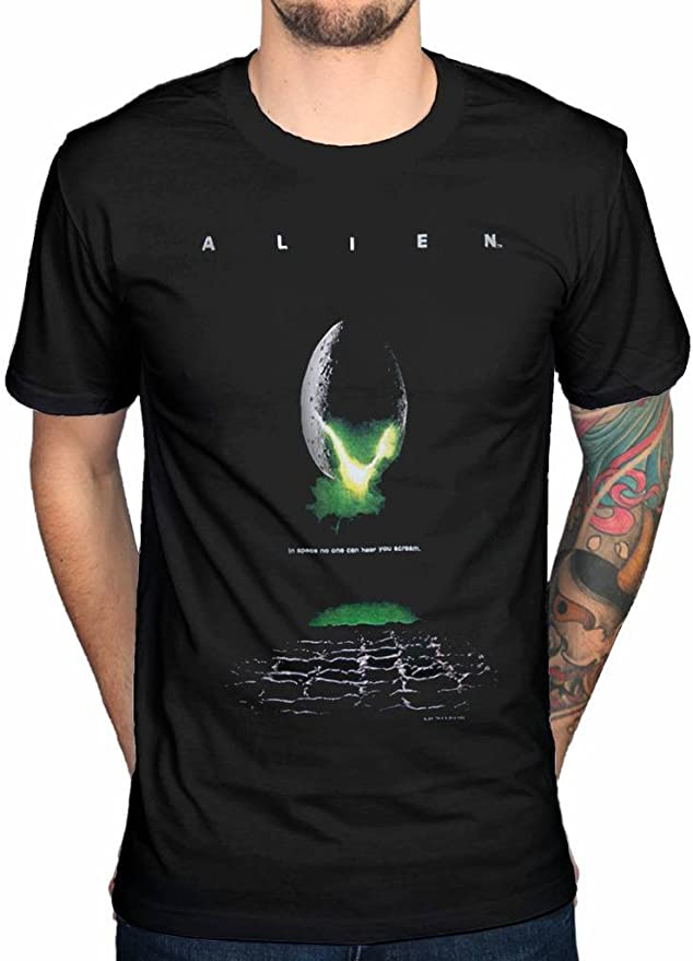 Officially Licensed Aliens USCSS Nostromo Men/'s T-Shirt S-XXL Sizes