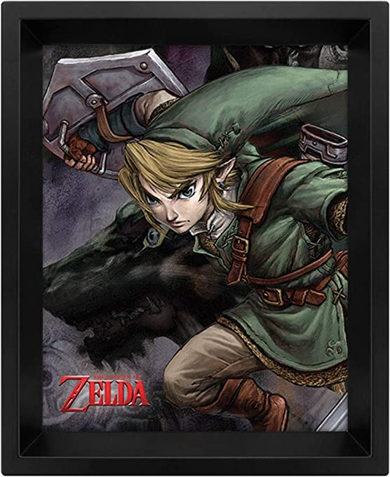 30 in x 20 in FAST SHIPPING The legend of Zelda Classic 10 Poster Set