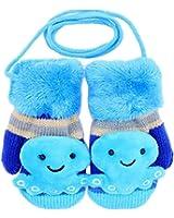 SAMGU Lovely Octopus Baby Gloves Garçons Filles Toddler mignons gants chauds