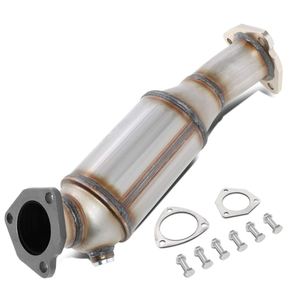 DNA MOTORING OEM-CONV-014 Factory Style Catalytic Converter Exhaust Pipe Replacement