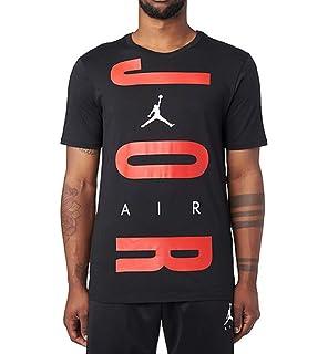 3704cecfefeb9 Nike Mens M JSW TEE AJ11 GX 944220-687_L - Gym RED/Black at Amazon ...