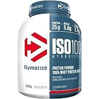 Dymatize ISO 100 Strawberry 2,2kg - Hidrolizado de Proteína de Suero Whey +…