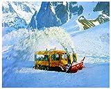 1968 Mercedes Benz Unimog Schmidt Rotary Snow