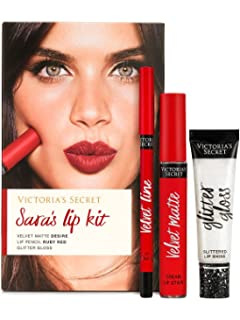 0731b1889ba80 Amazon.com: Victoria's Secret Elsa's Lip Kit - Lipstick Lipgloss Lip ...