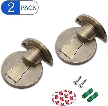 Amazon Com Magnetic Door Stopper 2pack Invisible Floor Mount
