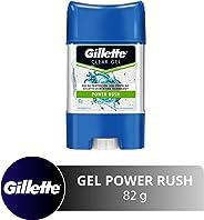 Gillette Desodorante Antitranspirante en Gel Power Rush, 82 gr