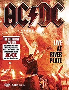 AC/DC - Live at the River Plate  (+ T-Shirt XL/+ Poster) [Reino Unido] [DVD]