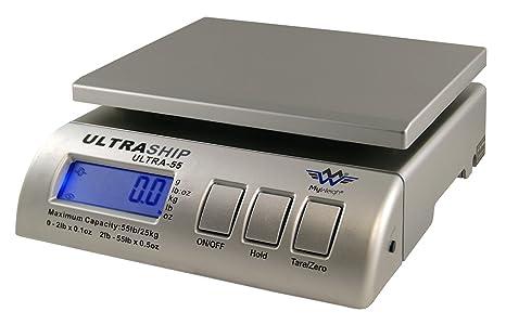 Báscula My Weigh Ultraship 55 postales (/25 kg – Plata