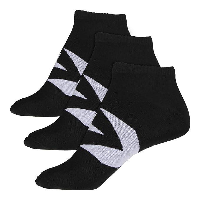 d20f8d1eaccb Converse Men s Socks 3-Pack Boom Star Chevron Footies black