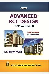 Advanced R C C Design  (R C C  Vol. 2) Paperback
