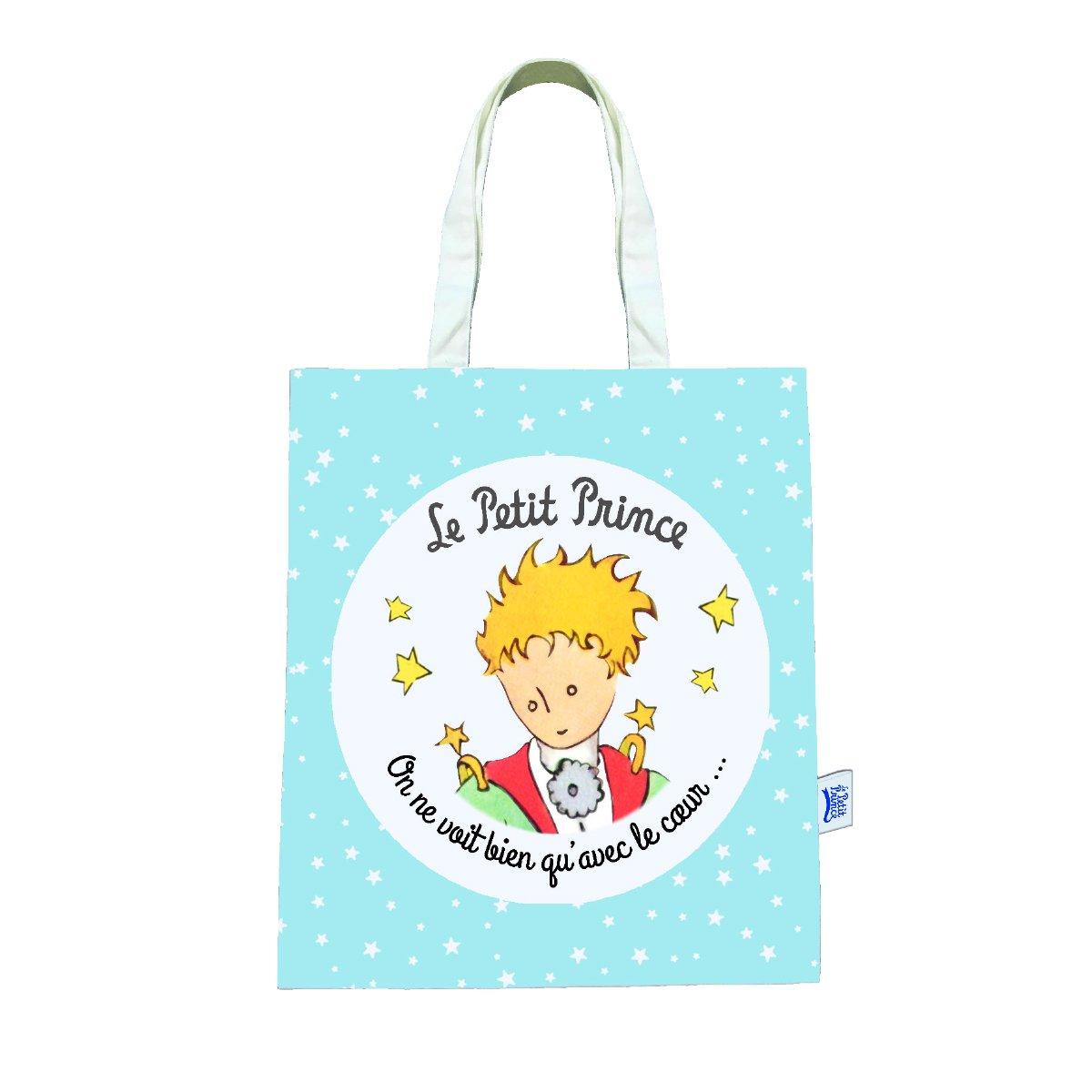 der Kleine Prinz 525517 Tasche, Baumwolle, Blau, 38 x 1 x 44 cm ...