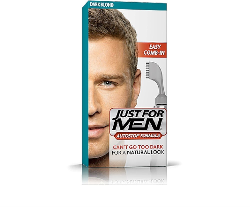 JUST FOR MEN AutoStop Haircolor, Dark Blond A-15 (4 Pack)