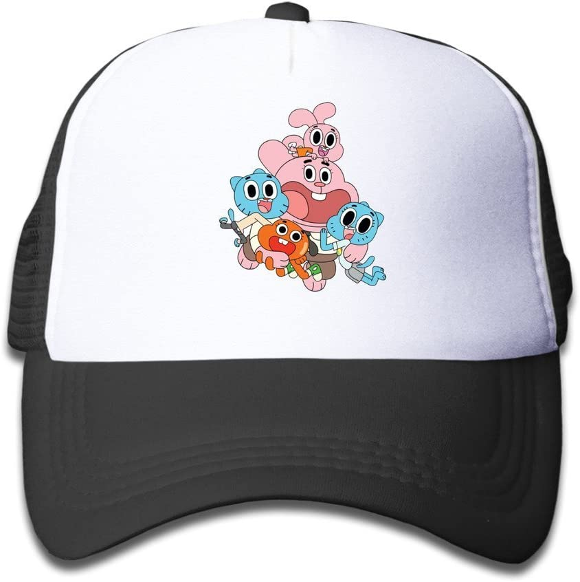 XCarmen Personalized The Amazing World Of Gumball Kid/â/€TMs Hats Pink Black