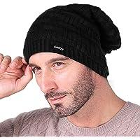 Knotyy Men's Cap (KNTY-CAP-B-01_Black_Free Size)