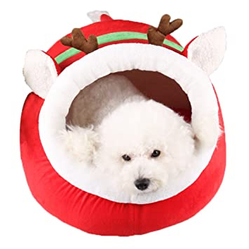 Cama cueva para mascotas de la marca ZuckerTi, para gatos, perros y otros animales domésticos, disponible en 3 tamaños (S, M y L): Amazon.es: Productos para ...