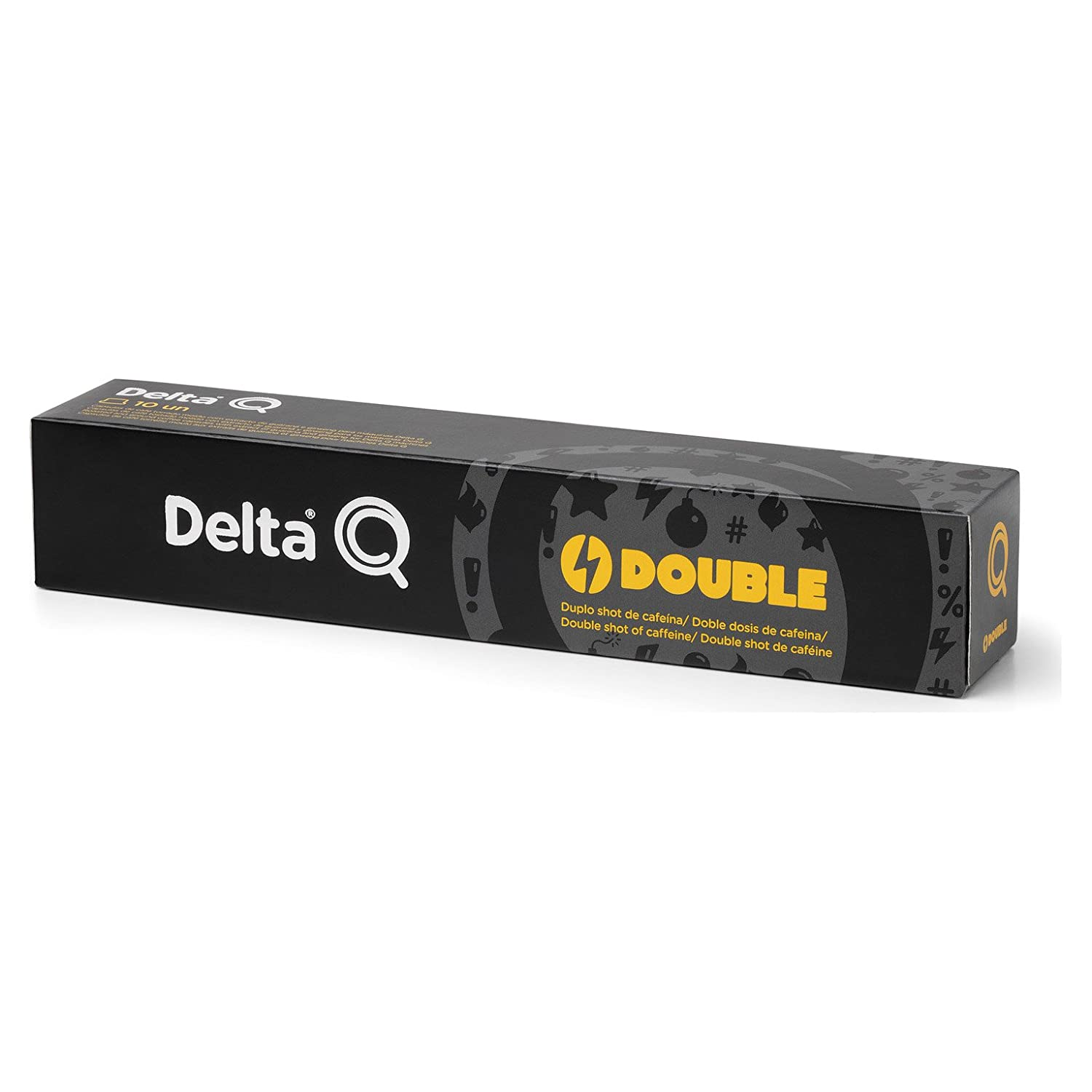 Delta Q Power Double Cápsulas Espresso (10 Cápsulas): Amazon.es ...