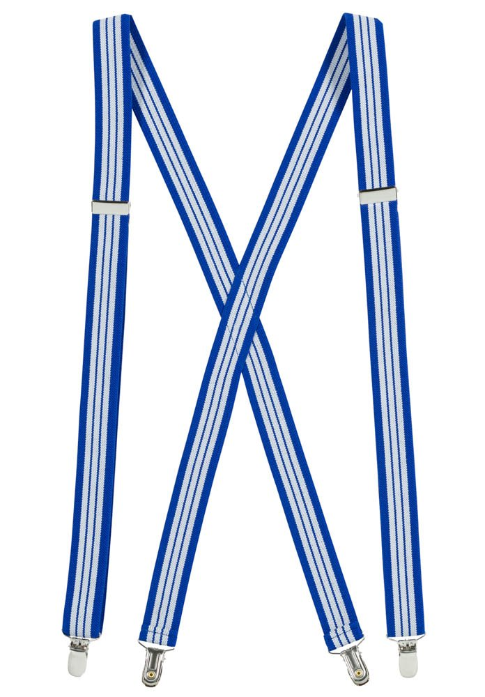 Suspenderss for Women USA Manufactured Elastic X-back Adjustable Straight Clip on - Sizes 46