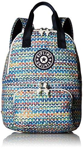 Kipling Women's Declan Printed Backpack, Vibrant Flow by Kipling