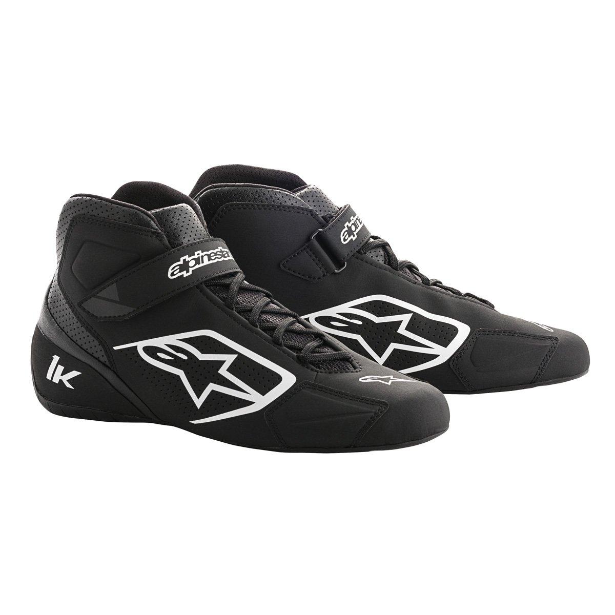 Alpinestars 2712018-12B-10 Tech 1-K Shoes, Black/White, Size 10 by Alpinestars