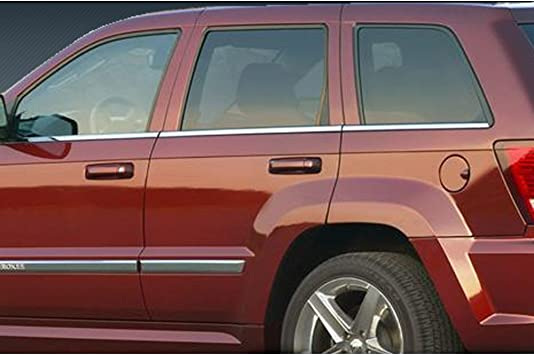 For Jeep Liberty 2008-2013 SES Trims Chrome Mirror Covers