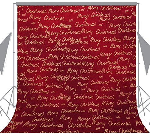 OUYIDA Christmas Theme 10X10FT Seamless CP Pictorial Cloth Photography Background Computer-Printed Vinyl Backdrop SD157 by OUYIDA (Image #4)