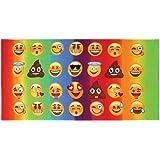 Top Trenz Emoji-emojicon Bath/ Beach Towel-fun!