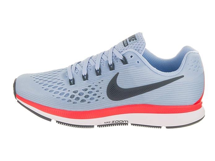 Amazon.com   Nike Womens Air Zoom Pegasus 34, ICE BLUE/BLUE FOX Running Shoe (10)   Road Running