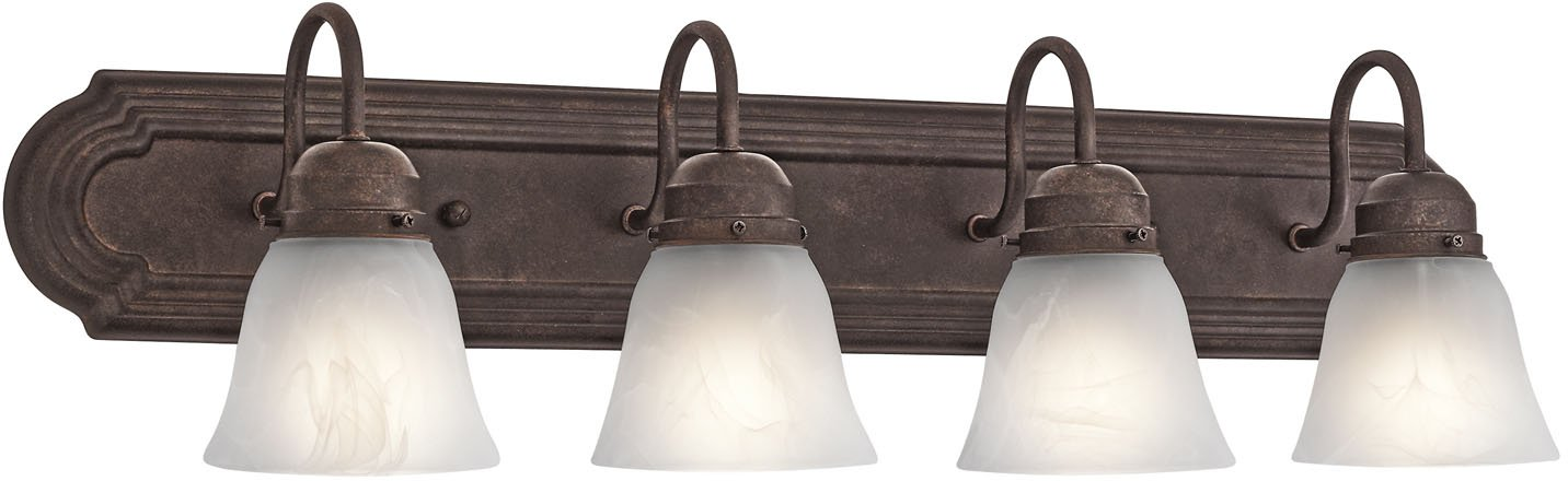 Kichler 5338TZ Bath 4-Light, Tannery Bronze by KICHLER