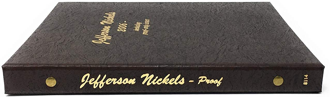 Dansco US Jefferson Nickel with Proof Volume 2 Page 2 #8114-2
