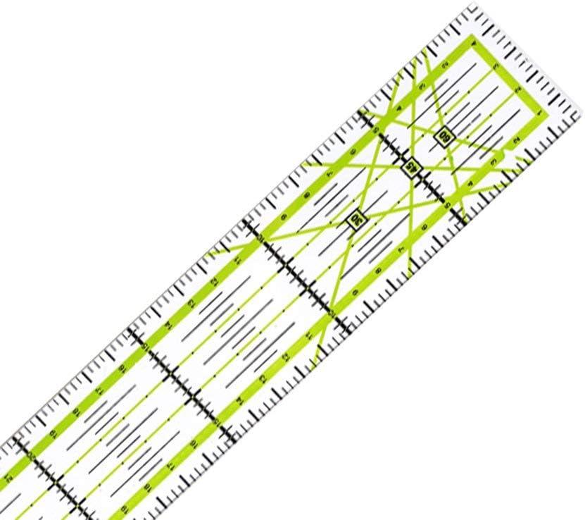 30 cm KinshopS Strumento per Quilt Cucito Fai-da-Te Righello Patchwork Righello per Cucire 5
