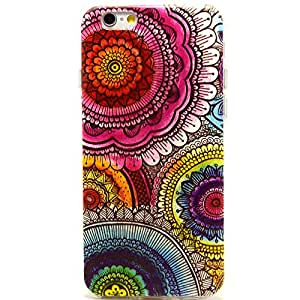 Apple Iphone6 4.7 inch Case, IVY Kaleidoscope Graphic,Snap-on TPU&IMD Soft Case Cover Skin For Apple Iphone 6 4.7 Inch
