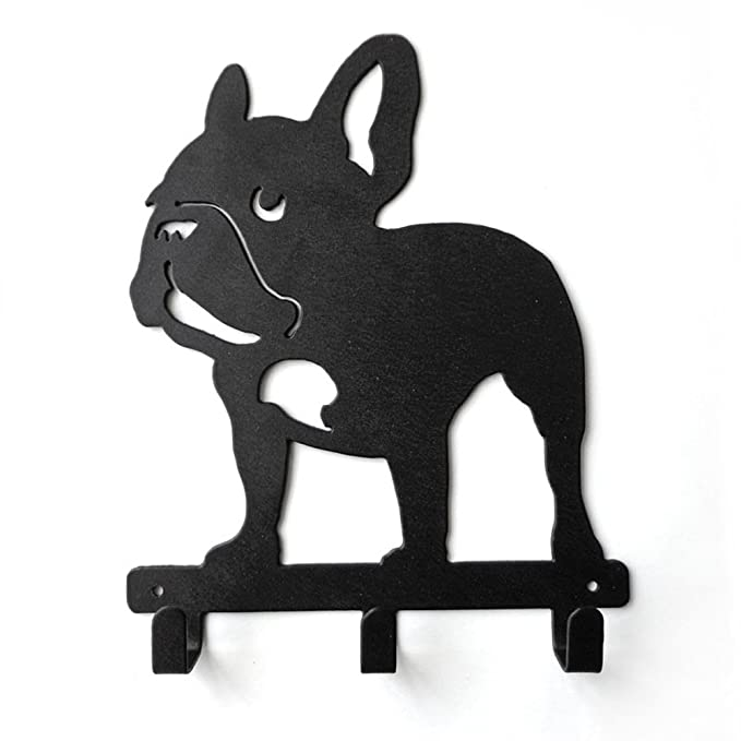 yournelo ironwork cachorro Bulldog Francés perro arte pared ...