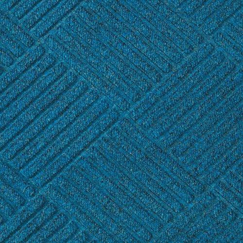 Waterhog Premier Entrance Mats (Half-Oval Grand Premier Rubber Gripper Back for Carpeted Surfaces Medium Blue 3' x 1.8' Waterhog Entrance)