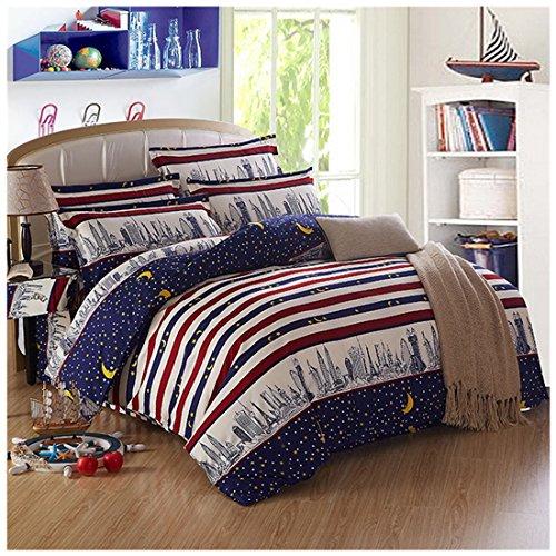 48*74cm Silky Pillow Cover Comfortable Pillowcase Blue - 2