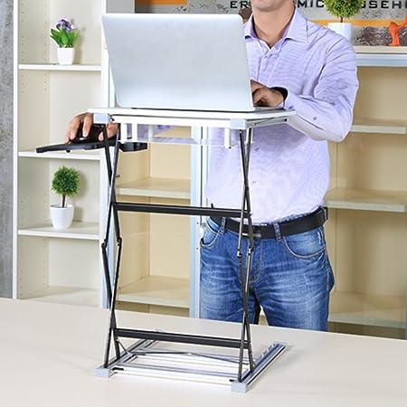 GYYZDZ ZZ Mesa Plegable Mesa Plegable/Escritorio de la computadora ...