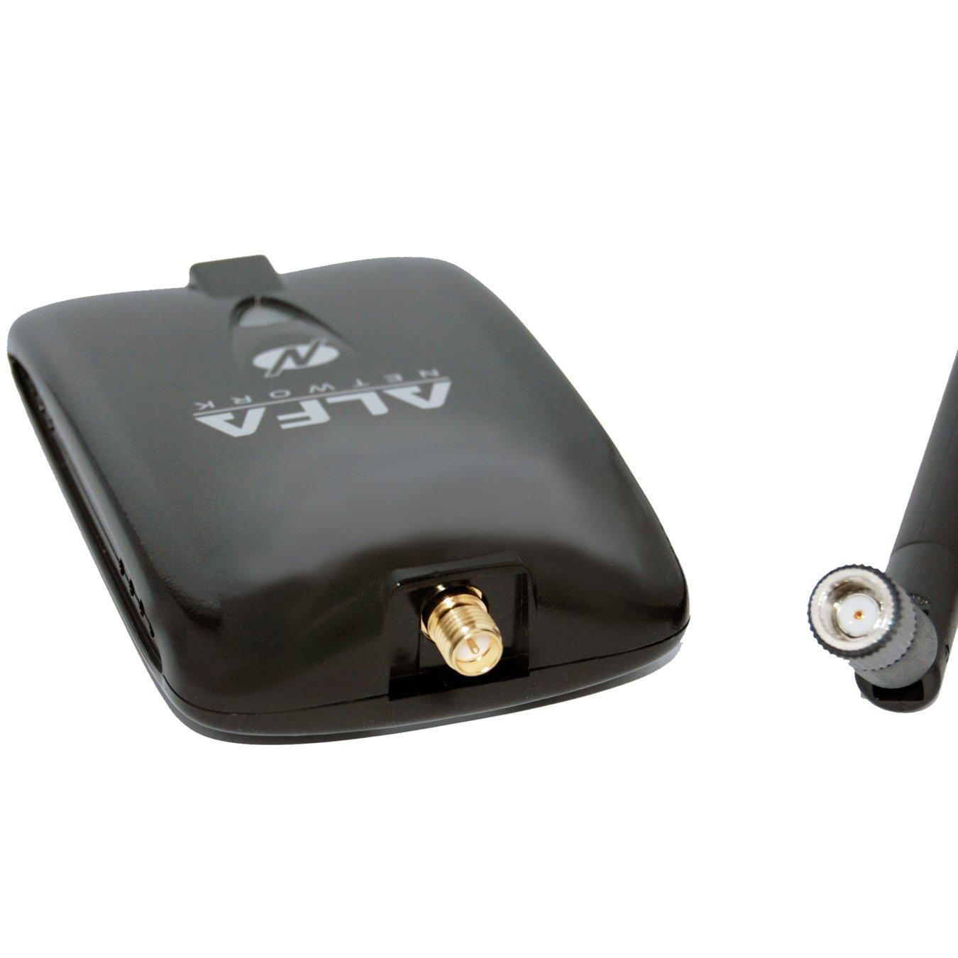 Alfa AWUS036NHA Wireless B/G/N USB Adaptor - 802.11n - 150 Mbps - 2.4 GHz - 5 dBi Antenna - Long Range - Atheros Chipset - Windows XP/Vista 64-Bit/128-Bit Windows 7 Compatible by Alfa (Image #4)