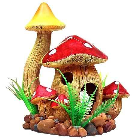 OMEM - Decoración para jardín de hábitat de Anfibios y Cuevas de escondite: Amazon.es: Productos para mascotas