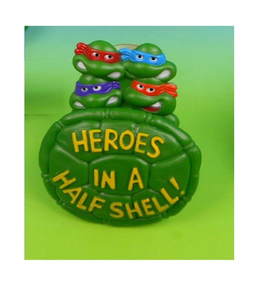 Heroes In A Half Shell Rad Badge Teenage Mutant Ninja Turtles TMNT Burger King Meal Toy