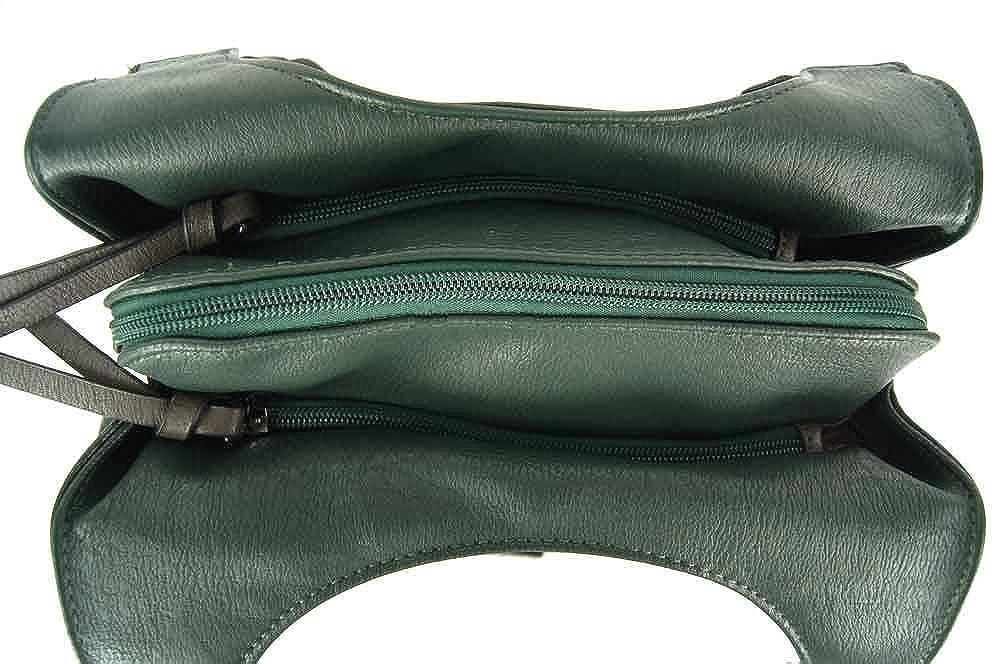 CASAdiNOVA Damen Damen Damen Tasche Beuteltasche Schultertasche Reißverschluss Neu Herbst Grau 2018 Modern Leder Vegan 25x27x10 cm B07FJQ9KTV Schultertaschen Reparieren 0f3ebc