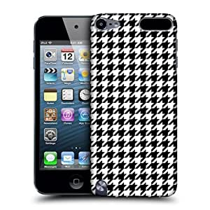 Beautifulcase Head case cover Designs Black Houndstooth Patterns protective Snap-on Hard Back case cover for Apple iPod Touch 5G RQpsve6OcBE 5th Gen