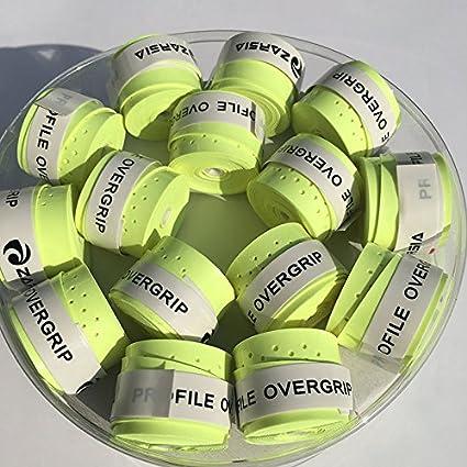 zarsia neón verde Sticky Feel Raqueta de tenis sobregrip para raquetas raqueta de bádminton para empuñadura