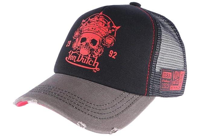 Von Dutch - Gorra de béisbol - para Hombre Rojo Talla única