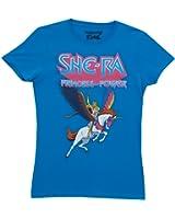 She-Ra Princess of Power 80s Cartoon TV Show Mighty Fine Juniors T-Shirt Tee