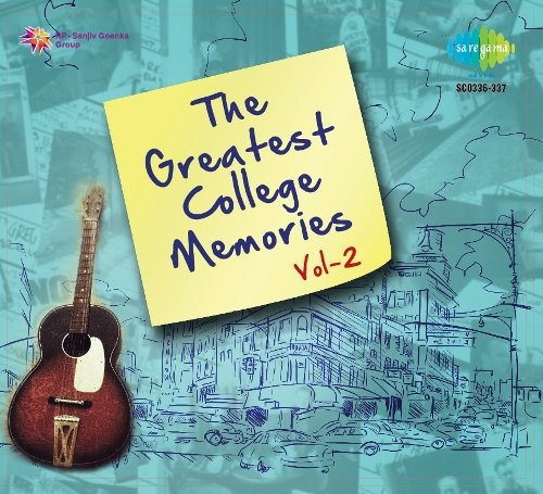 The Greatest College Memories Vol 2 (2-CD Set / Bollywood Hits Of 80s & 90s) (Hits Of Mohd Rafi And Lata Mangeshkar)
